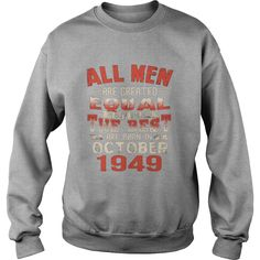 The Best Are Born In October 1949 68th Birthday Gifts Tee #gift #ideas #Popular #Everything #Videos #Shop #Animals #pets #Architecture #Art #Cars #motorcycles #Celebrities #DIY #crafts #Design #Education #Entertainment #Food #drink #Gardening #Geek #Hair #beauty #Health #fitness #History #Holidays #events #Home decor #Humor #Illustrations #posters #Kids #parenting #Men #Outdoors #Photography #Products #Quotes #Science #nature #Sports #Tattoos #Technology #Travel #Weddings #Women