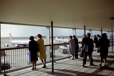 London Airport in 1964.