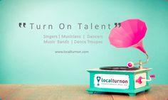 "#localturnon #LTO #turnontalent #Turnonhappiness #Artist #band #singers #dancers #dancetroupe #musicians  #TURNON #TALENT #WITH #LOCALTURNON - Your "" Music & Dance "" Connect Platform. Register your profile at www.localturnon.com/seller-register  Turn on Music || Turn on Dance || Turn on Talent !"