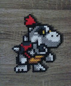 Super Mario Dungeon Enemies Perler Beads par GeekyMania sur Etsy