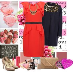 """Valentine's Day"" by zoenian on Polyvore"