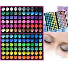 Cosmetic 120 Full Color Fashion Warm Eye Shadow Eyeshadow Makeup Palette Set   eBay