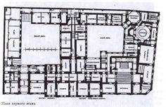 Beloselsky-Belozersky Palace (aka: Sergievskii Palace).  --  ground floor.