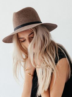 Wegner Hat by #JanessaLeone in shop now @thirdstreethabit