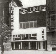 Café De Unie, Rotterdam, 1925 by J.J.P. Oud