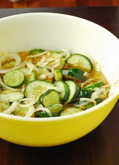 Bread and Butter Pickles by Blissfully Delicious as part of the Friday Five - Labor Day addition from Feed Your Soul Too