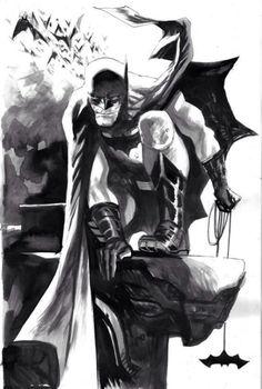 alexhchung:  Batman by Rafael Albuquerque