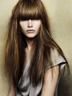 Dark Hair Color Idea