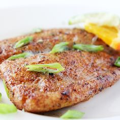 Pan Seared Tilapia Recipe - yummy - have some tilapia in freezer!