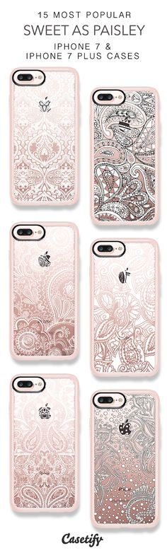 15 Most Popular Sweet As Paisley Protective iPhone 7 Cases and iPhone 7 Plus Cases. More Pattern iPhone case here > https://www.casetify.com/collections/top_100_designs#/?vc=i7GRrzdFnh