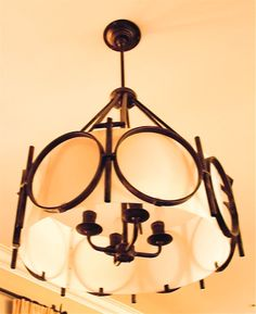 ...couldn't find the light we needed so we had one made... Garden Design, Chandelier, Ceiling Lights, Lighting, Wallpaper, Interior, Home Decor, Candelabra, Decoration Home