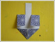 Simple Hanukkah card craft