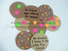 Litearcy Activities: 3 gratitude and kindness activities for kids