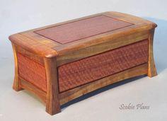 DYI - Woodwork Plans - Treasure Chest - SCOBIE PLANS