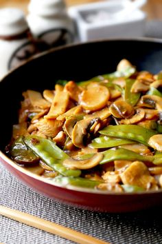 Better than takeout moo goo gai pan recipe that's savory and a little sour. Ready in less than 25 minutes! We love this as a cheap and healthy…