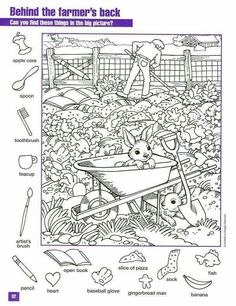 6 Worksheets Play I Spy On the Farm I Spy Hidden Objects Worksheet √ Worksheets Play I Spy On the Farm . 6 Worksheets Play I Spy On the Farm . Farm Word Search Easy Worksheets in Coloring For Kids, Adult Coloring, Colouring Pages, Coloring Books, Puzzle Photo, Hidden Pictures Printables, Highlights Hidden Pictures, Hidden Picture Puzzles, Search And Find