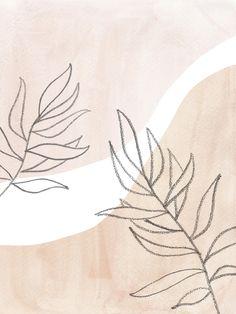 Neutral plants Art Print