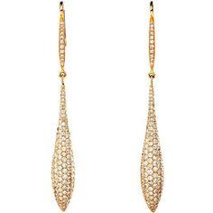 Salavetti - SALAVETTI Pod Drop Diamond Earrings - Windsor Jewelers Inc.