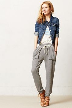 Anthropologie Quincy Joggers