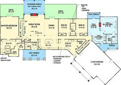 Plan 12309JL: Lovely Craftsman With Future In Law Apartment