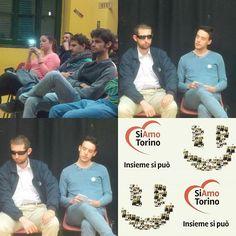 Con #DavideMaramotti e #AlbertoSantacroce all'incontro organizzato da #latanadelbabi per la presentazione dei candidati #under30. Un incontro con giovani basato sull'interesse a comunicare un modo positivo e propositivo di fare #politica.  Grazie dell'invito. È stato un piacere.  #SiAmoTorino con il #candidato #Sindaco #GuglielmodelPero #Maramotti #Santacroce #Torino #Torino2016 #amministrative2016 #comunali2016 #elezioniTorino #TorinoCiStaACuore