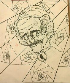 Poe,  the original starving artist