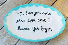 Sweet love quotes Berries and Graphite: Wedding Details: Our Vows