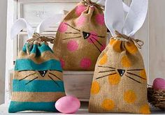 Craft Painting - DIY Easter Treat Bags
