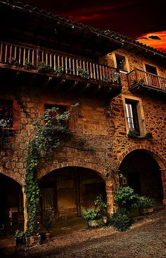 Santa Pau,  Garrotxa  Catalonia