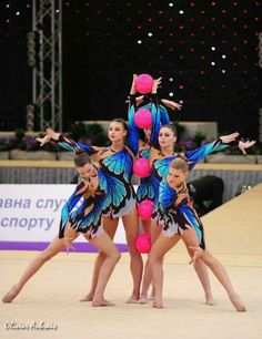 Gymnastics is the place where high standard athletics and art meet up (Belarus Team)