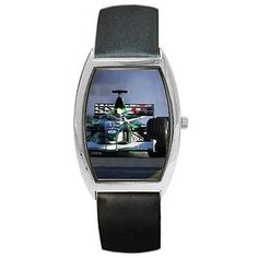 Formula 1 race car at #monaco #black leather barrel #watch,  View more on the LINK: http://www.zeppy.io/product/gb/2/361170984800/