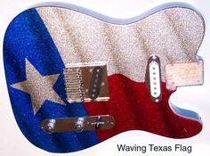 texas flag guitar - Google Search