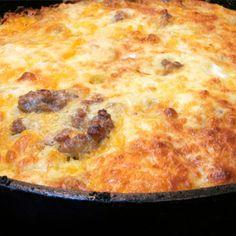 All-In-The-Family Casserole - Just like Grandma's Breakfast Souffle :)