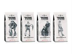 Pauligin Tom of Finland -kahvi. Myydään ainakin Keskon isommissa kaupoissa(Citymarketit ja osa KKK-Suermarketeista)