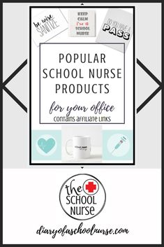 Popular school nurse products for your office. Nurse Office Decor, School Nurse Office, Nurse Decor, School Nursing, Nursing Notes, Nurse Bulletin Board, Office Stamps, Notes To Parents, Night Nurse