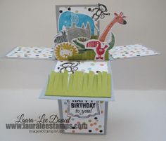 Box Card Zoo Babies