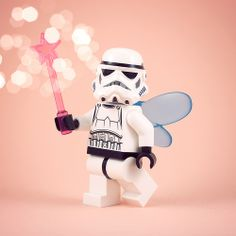 The Troopfairy, Stormtrooper, Star Wars, Lego art, by powerpig