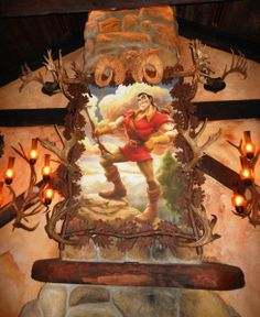 Gaston's Tavern. I love how they took things straight out of the movie!