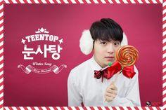 #틴탑 TEEN TOP #눈사탕 - RICKY