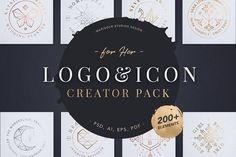 Logo & Icon Creator Pack by Marigold Studios on @creativemarket