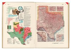 Herbert Bayer - World Geographical Atlas, Container Corporation of America, 1953