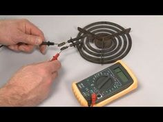 Stove Top Burner Doesn't Work? Coil Surface Element Test – Electric Stove Repair - YouTube