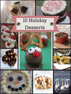 10 Delicious Holiday Desserts