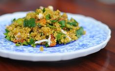 Curried Quinoa salad!