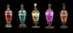 Flower Potions (The Exiled Prince) by Moon-Shadow-1985.deviantart.com on @DeviantArt