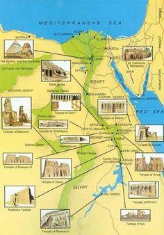 landkarte aegypten 3 gypten egypt pinterest landkarten. Black Bedroom Furniture Sets. Home Design Ideas