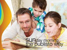 Enjoy your Sundays with Publisto! Enjoy Your Sunday, Interactive Stories, Best Apps, Sunday Morning, Spirit, Baseball Cards