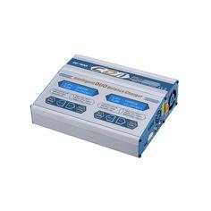 12PCS EV-PEAK CD1-XR 2x10Amps/100Watts duo rc lipo charger for LiPo LiIon LiFe NiCd NiMH Pb Batteries #Affiliate