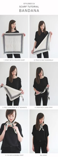 5 SCARF TUTORIAL