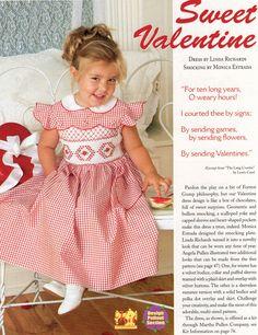 #105 Mar/Apr 06 - Sweet Valentine Smocked Dress